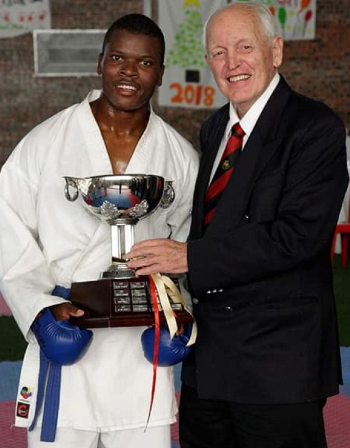 Freddy Mwakyoma Shotokan Winner 2019