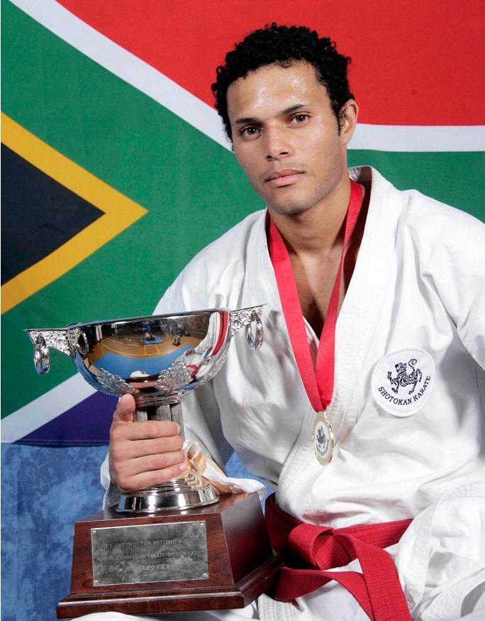 Leandro David Shotokan Cup Winner 2012